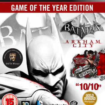Batman Arkham City GOTY ps3