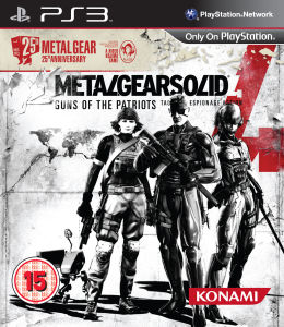 Metal Gear Solid 4 25th