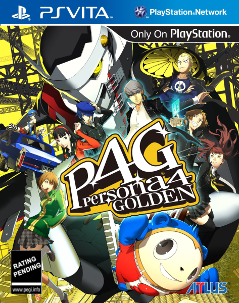 Persona 4- Golden PS Vita