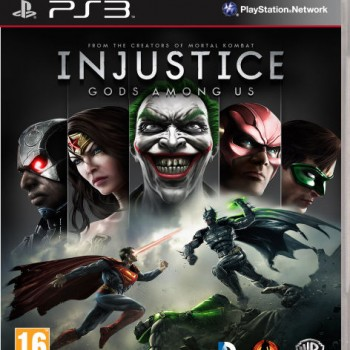 Injustice- Gods Among Us ps3