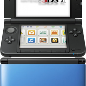 Nintendo 3DS XL Console (Blue and Black) Games Consoles