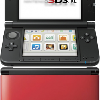 Nintendo 3DS XL Console (Red and Black) Games Consoles