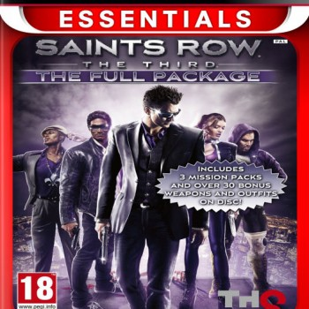 Saints Row The Third Full Package (Essentials) PS3