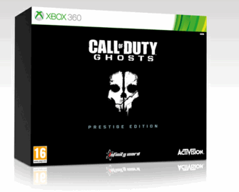 COD ghosts prestige edition Xbox 360