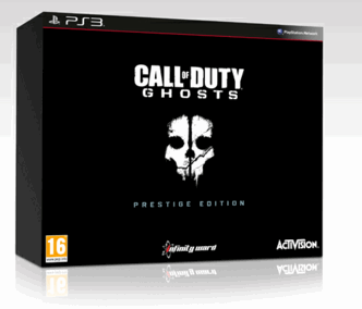 COD ghosts prestige edition ps3