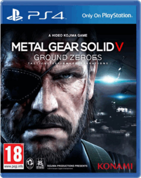 Metal Gear Solid V- Ground Zeros PS4