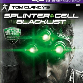 Splinter Cell Blacklist- Upper Echelon Edition With Steelbook Xbox 360
