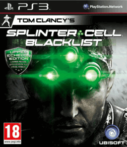 splinter cell Upper Echelon Edition ps3
