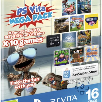 Kids' Mega Pack (Includes 16GB Memory Card) PS Vita