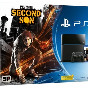 PS4 InFamous bundle