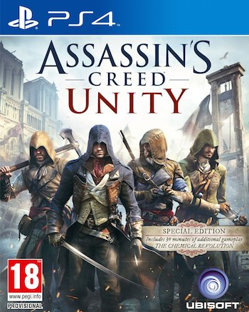 Assassin's Creed- Unity ps4