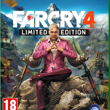 far cry 4 limited xb1