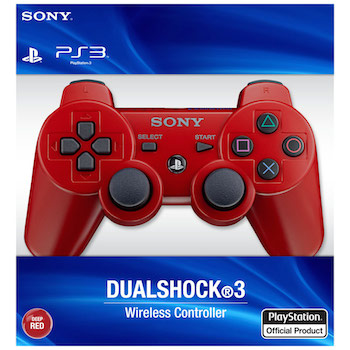 ps3 red