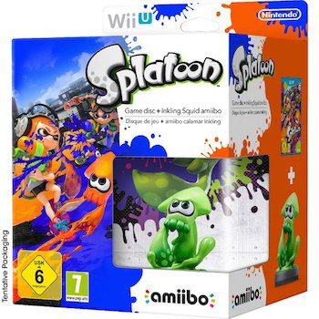 Splatoon - Includes Inkling Squid amiibo Wii U