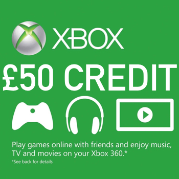 0f9b5933dd9 Get £50 Xbox Live Credit For Xbox One | Xbox 360 Instant Delivery For Only  £45.99