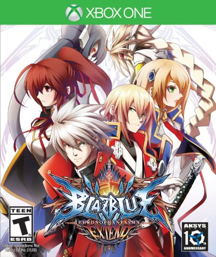 BlazBlue Chrono Phantasma Extend XB1
