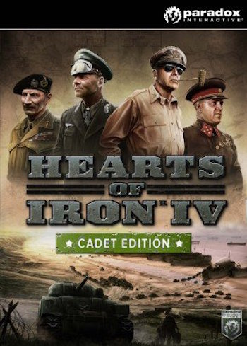 Hearts of Iron IV 4 Cadet Edition PC