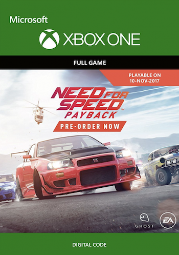 pre order need for speed payback xbox one digital download or using code frugal. Black Bedroom Furniture Sets. Home Design Ideas