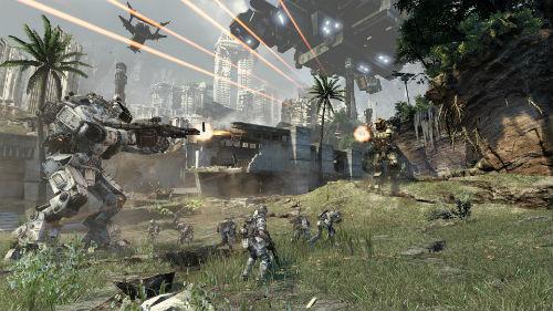 Titanfall Battle