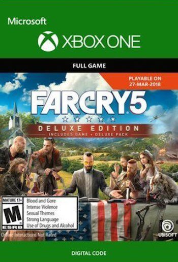 Far Cry 5 Deluxe Edition Xbox One Digital Download £52 24 Using Discount