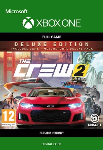 The Crew 2 Deluxe Edition Xbox One Digital Download £52 24 Using Discount