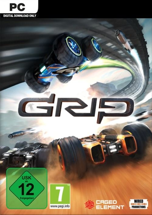 GRIP: Combat Racing PC Digital Download £12 60 Using Discount