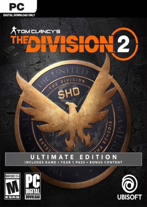 Tom Clancys The Division 2 Ultimate Edition PC Digital Download £87 29  Using Discount