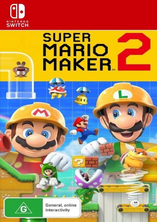 super mario maker 2 switch digital download frugal gaming